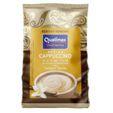 Cappuccino Qualimax Caramel Vanilla - Kg