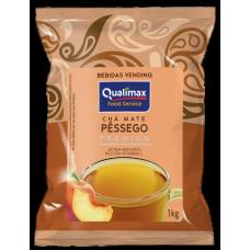 Chá Mate Solúvel Qualimax Pêssego  - 01 Kg