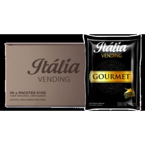 Café Solúvel Liofilizado Gourmet Itália 510 g - Cx ( 06 unid.)