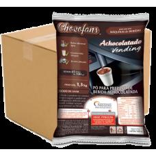 Chocolate com Leite Chocofans  Nestlé 1,3kg - Cx (06 unid.)