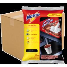 Chocolate Nescau com Leite Nestlé 1,3 Kg - Cx (06unid.)