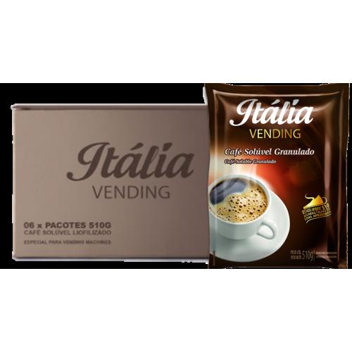 Café Solúvel Granulado  Itália 510 g - Cx ( 06 unid.)