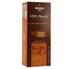 Cápsulas Café Baggio Aroma Caramelo - 10 unid.