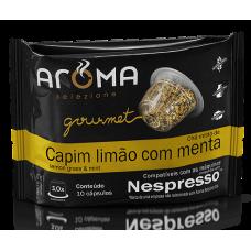 Cápsulas Aroma de Chá  Capim Limão com Menta - 10 unid.