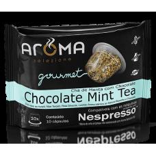 Cápsulas Aroma de Chá de Menta com Chocolate - 10 unid.