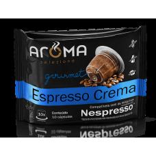 Cápsulas Aroma Café Espresso Crema - 10 unid.