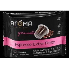 Cápsulas Aroma café Espresso Extra Forte - 10 unid.