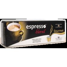 Cápsulas Espresso Blend Gourmet - 10 Unid.