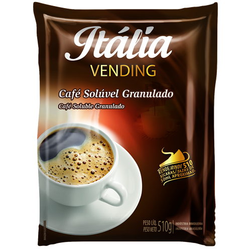 Café Solúvel Granulado Itália Vending - 510 g
