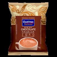 Chocolate com Leite  Premium Qualimax 0% Acúcar - 01 Kg