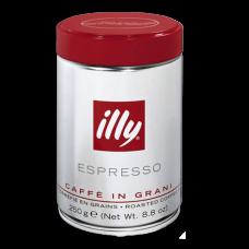 Café ILLY Espresso (Itália) em Grãos Torrados lata - 250g